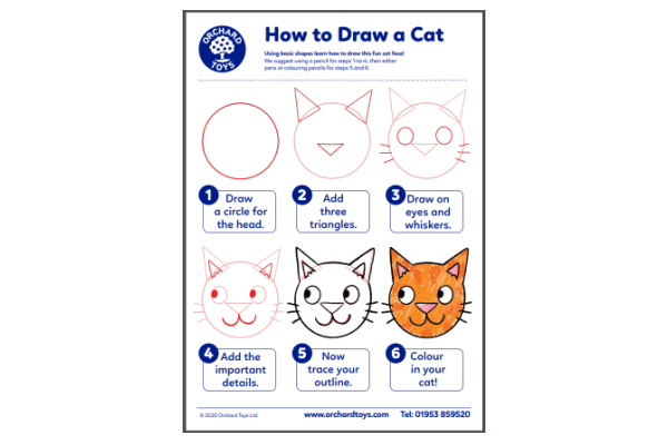 How To Draw A Cat (Key Stage 1)