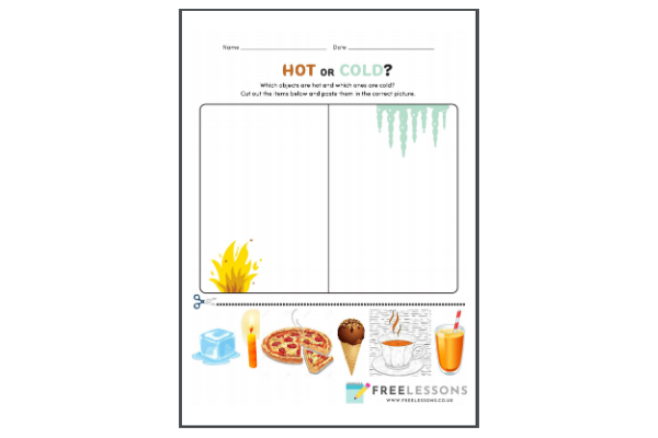 Hot Or Cold (Key Stage 1)