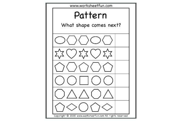 Patterns (Key Stage 1)