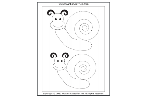Spiral Tracing (Key Stage 1)