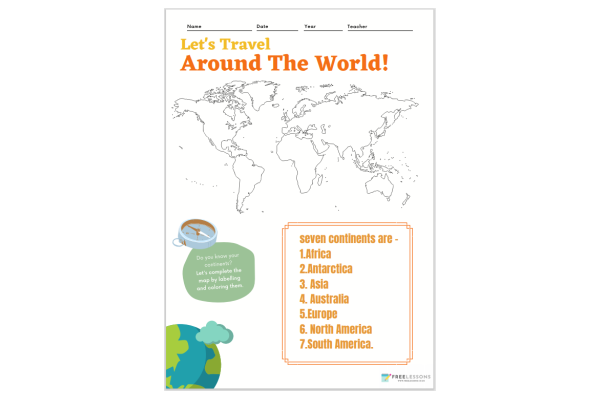 Let's Travel Around The World (Key Stage 1)